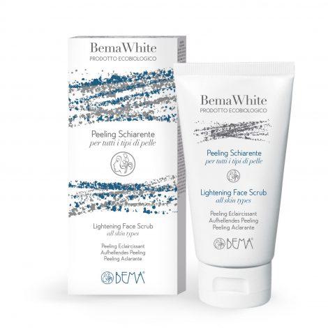 BemaWhite Organic Brightening Face Scrub