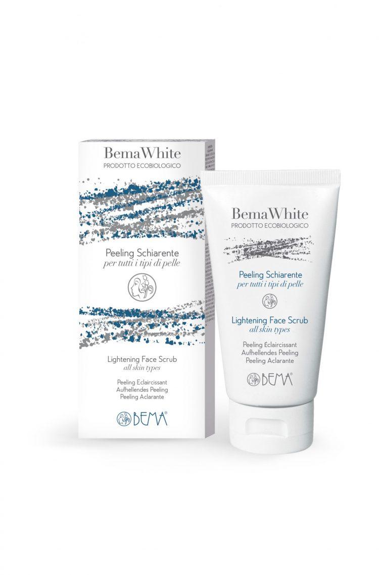 Bema Cosmetici White Organic Brightening Face Scrub