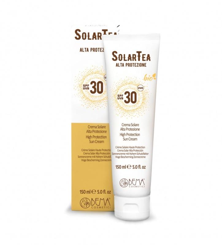 Bema Cosmetici SolarTea Organic Sun Cream SPF 30, 150ml