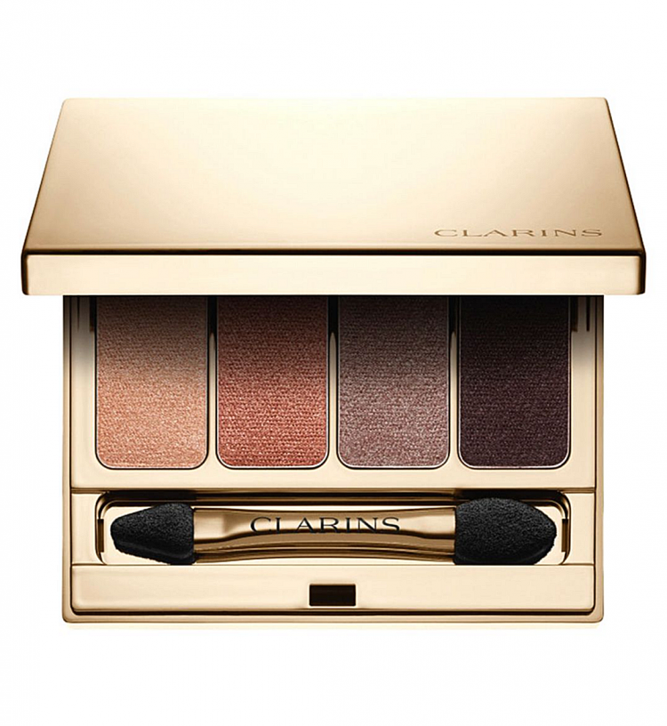 CLARINS 4-Colour Eyeshadow Palette No.04 OUD