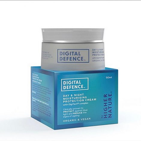 Digital Defence Vegan Day & Night Moisturising Protection Cream