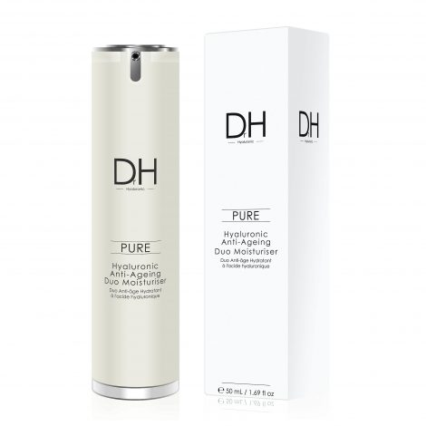 Dr H Hyaluronic Acid Anti-Ageing Duo Moisturiser, 50ml