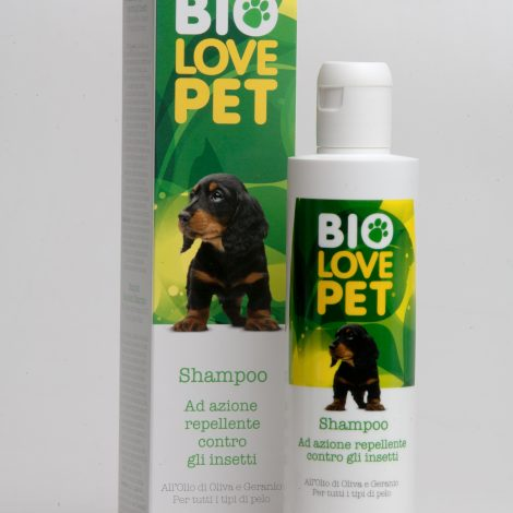 Bema Cosmetici Bio Love Pet organic Mosquito Repellent Shampoo, 250ml