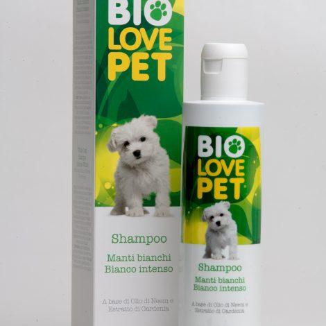 Bema Cosmetici Bio Love Pet Organic White Coat  Shampoo Intense White, 250ml