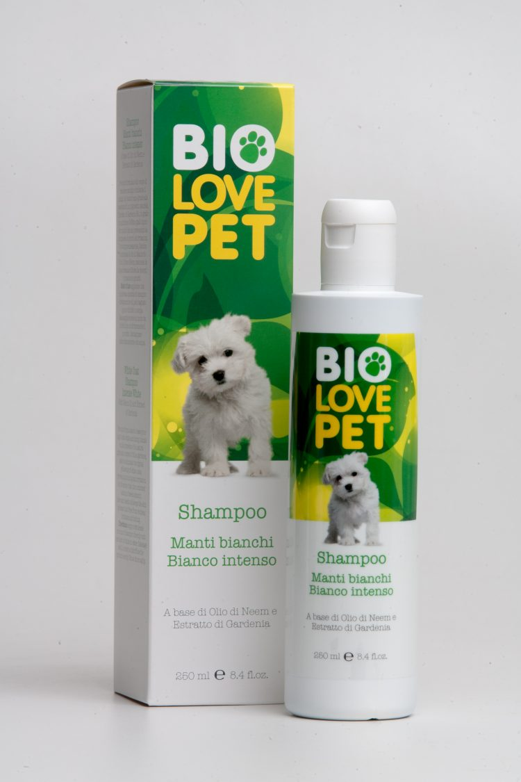Bema Cosmetics Bio Love Pet Organic White Coat  Shampoo Intense White, 250ml