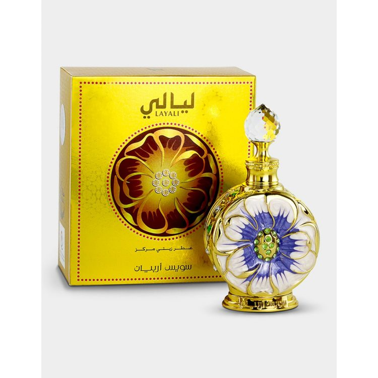 Swiss Arabian Layali Concentrated Perfume Oil, 15 ml