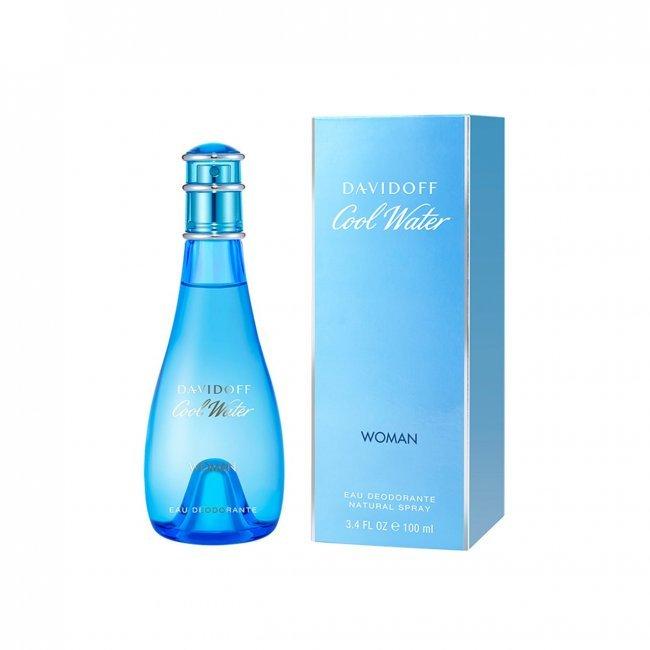 Davidoff Cool Water Woman Eau Deodorante Natural Spray 100ml
