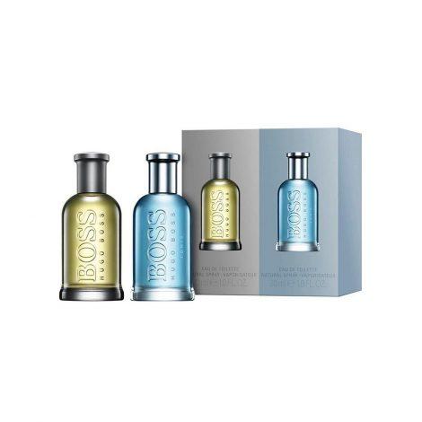 Hugo Boss Duo Gift Set Bottled + Bottled Tonic Eau De Toilette
