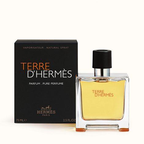HERMÈS Terre d'hermès pure parfum refillable spray 30ml